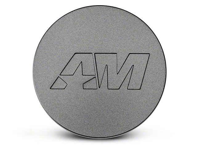 Charcoal AmericanMuscle Center Cap for AmericanMuscle Wheels Only