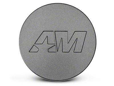 Charcoal AmericanMuscle Center Cap (94-19 All)