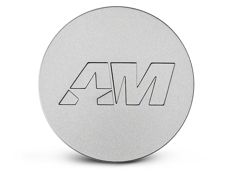 Stainless AmericanMuscle Center Cap (94-18 All)