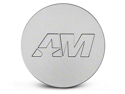 Stainless AmericanMuscle Center Cap (94-19 All)