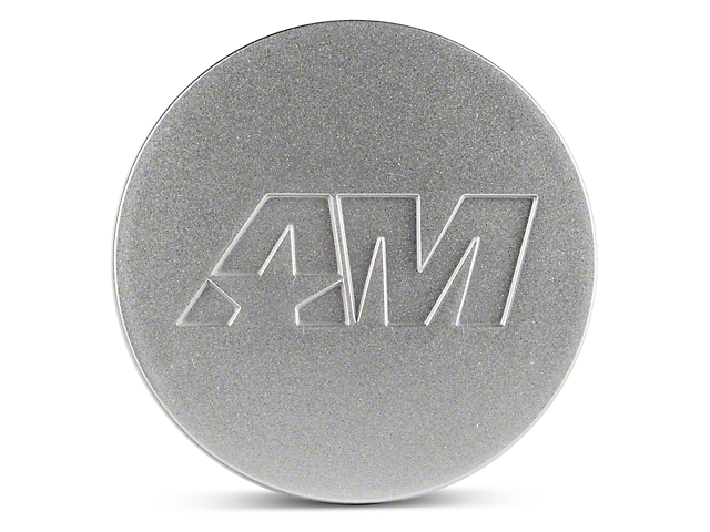 Silver AmericanMuscle Center Cap (94-18 All)