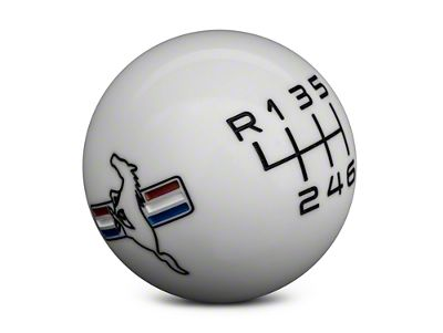 American Shifter 139559 Blue Metal Flake Shift Knob with M16 x 1.5 Insert Orange 79 Mustang