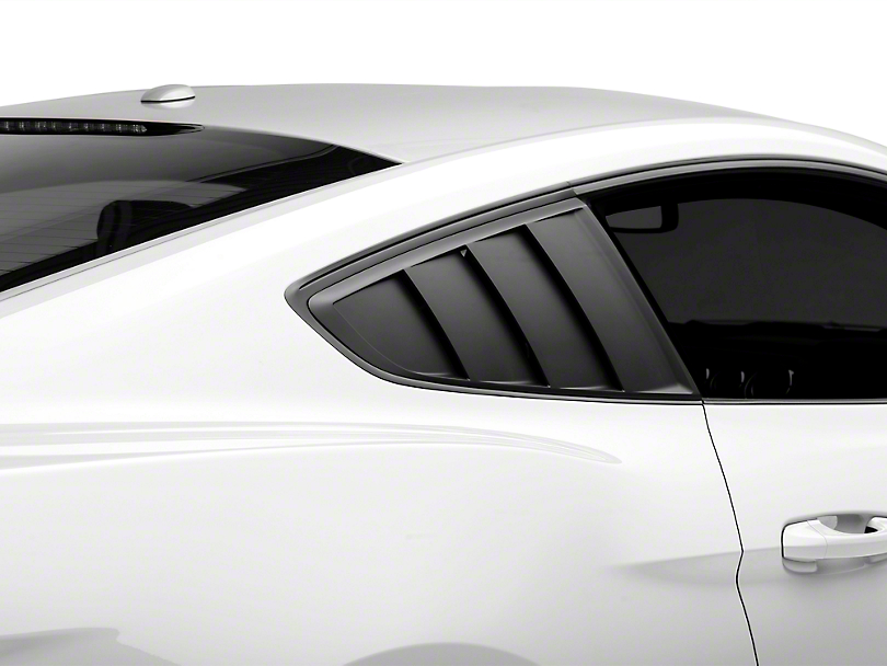 MMD Quarter Window Louvers - Matte Black (15-17 All)