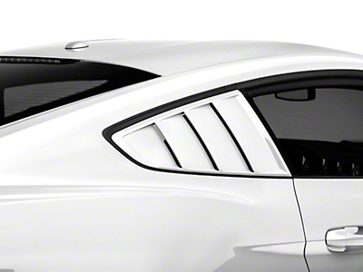 Hurst Quarter Window Louvers - Pre-Painted (15-18 Fastback)