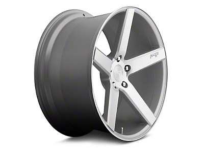 Niche Milan Silver Machined Wheel - 19x8.5 (05-17 All)