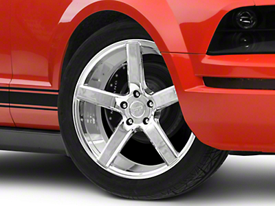 Niche Milan Powder Chrome Wheel - 19x8.5 (05-14 All, Excluding 13-14 GT500)