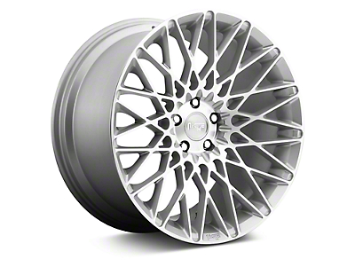 Niche Citrine Silver Machined Wheel - 19x9.5 (05-14 All; 15-19 GT, EcoBoost, V6)