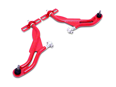 BMR Adjustable Front End Package - Standard Motor Mounts - Red (05-09 All)