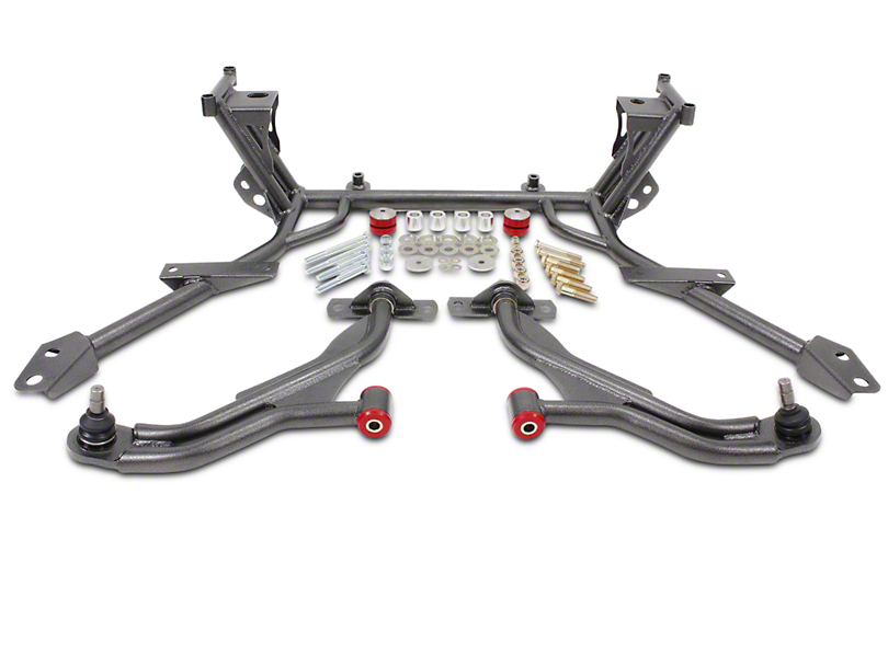 BMR Non-Adjustable Front End Package - Hammertone (05-09 All)