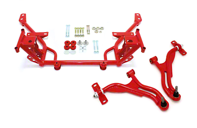 BMR Non-Adjustable Front End Package - Red (05-09 All)