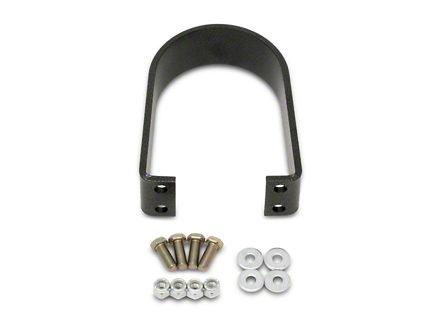 BMR Loop Upgrade for BMR Rear Tunnel Brace - Black Hammertone (05-14 All)