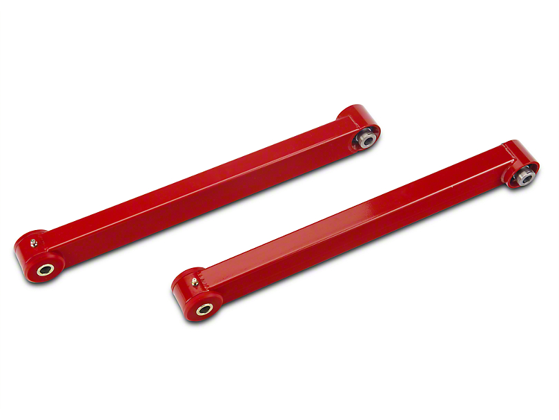BMR Rear Lower Control Arms - Spherical Bearings - Red (05-14 All)