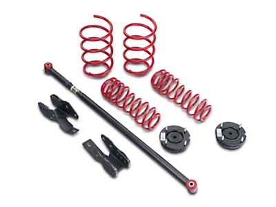 BMR Lowering Spring Package - Black Hammertone (05-10 All)