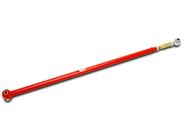 BMR Adjustable Panhard Bar; Poly/Rod; Red (05-14 All)