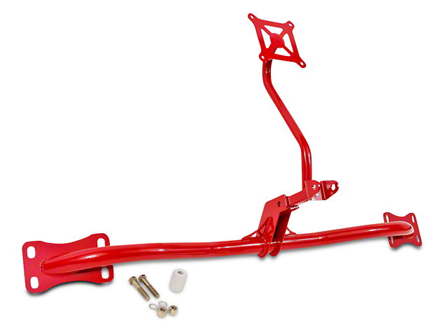 BMR Bolt-On Parachute Mount - Red (05-14 All)