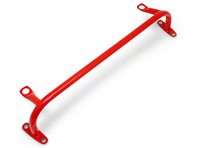 BMR Radiator Support w/o Sway Bar Mounts - Red (05-14 All)
