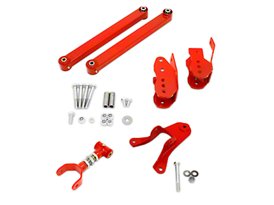 BMR Level 3 Rear Control Arm Package - Red (05-10 All)