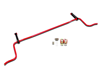 BMR Rear Sway Bar - Red (05-10 Coupe)