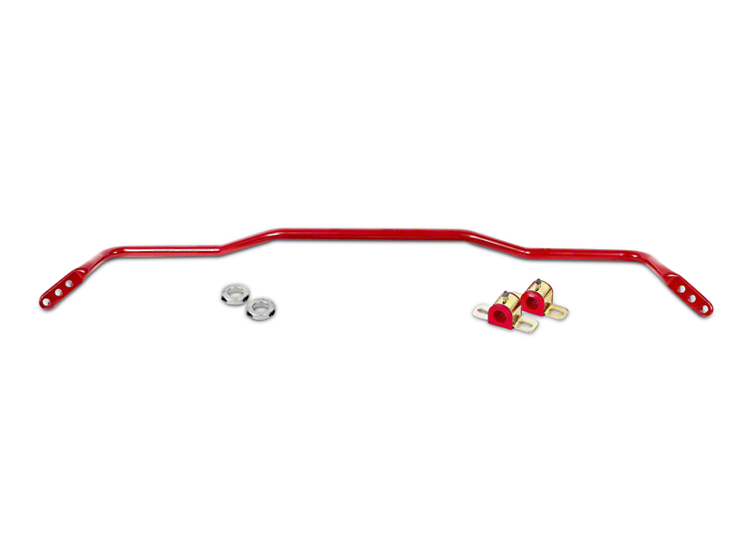 BMR Adjustable Rear Sway Bar - Red (15-17 All)
