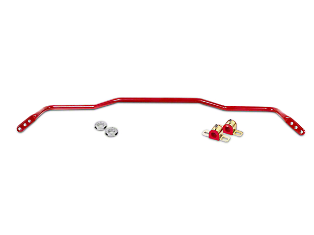 BMR Adjustable Rear Sway Bar - Red (15-19 All)
