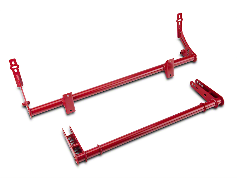 BMR Xtreme Rear Sway Bar Kit - Red (05-14 All)