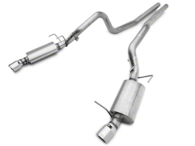 Hurst Elite Series Dual Cat-Back Exhaust System (11-14 GT)
