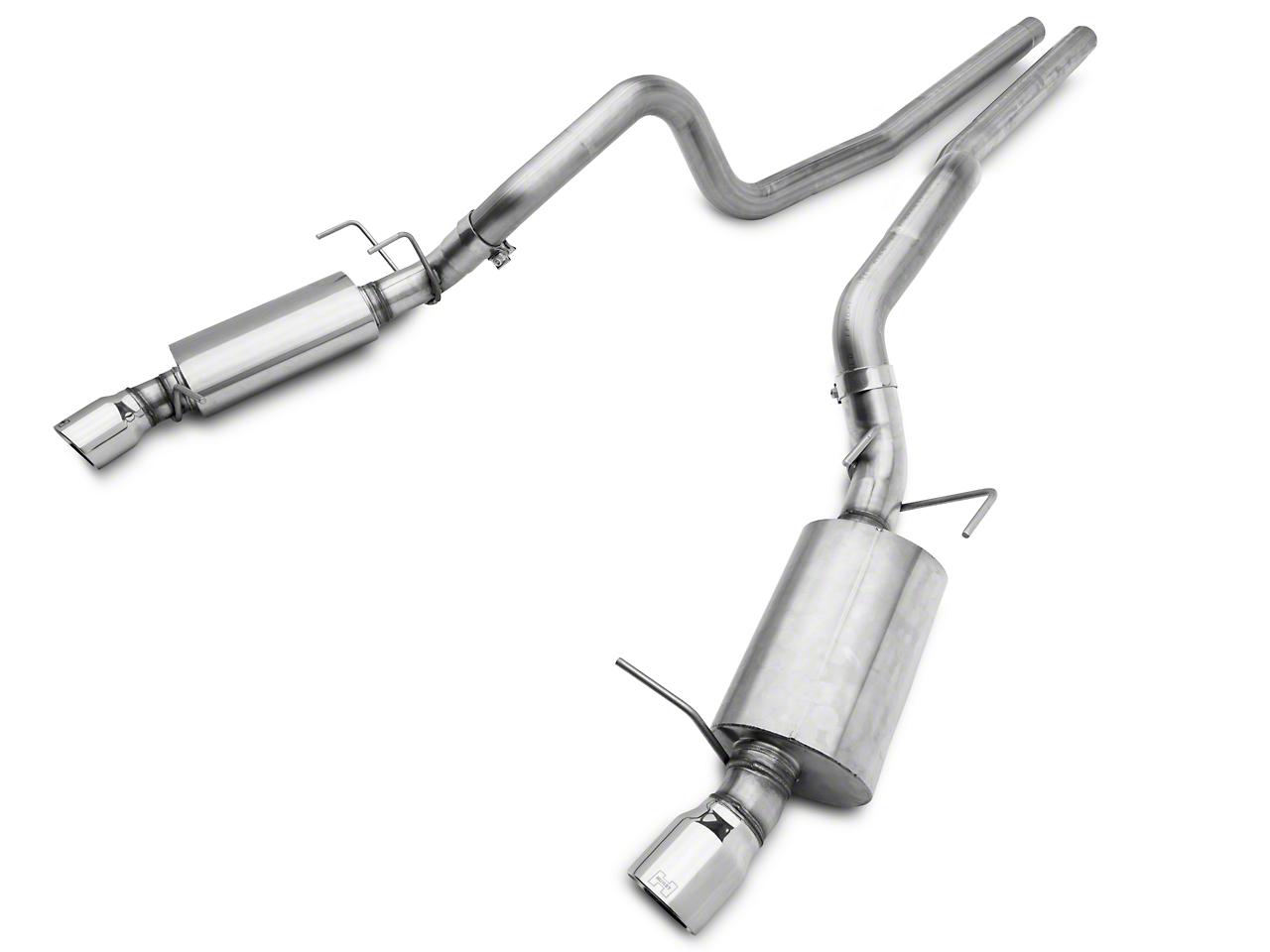 Hurst Elite Series Dual Cat-Back Exhaust System (11-14 GT)