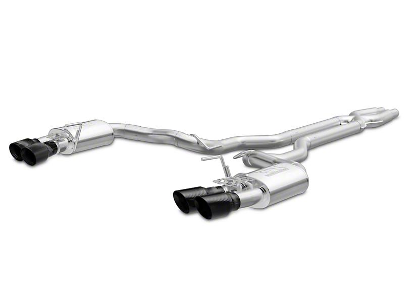 Magnaflow Competition Series Cat-Back Exhaust - Carbon Fiber Quad Tips (15-18 GT350)