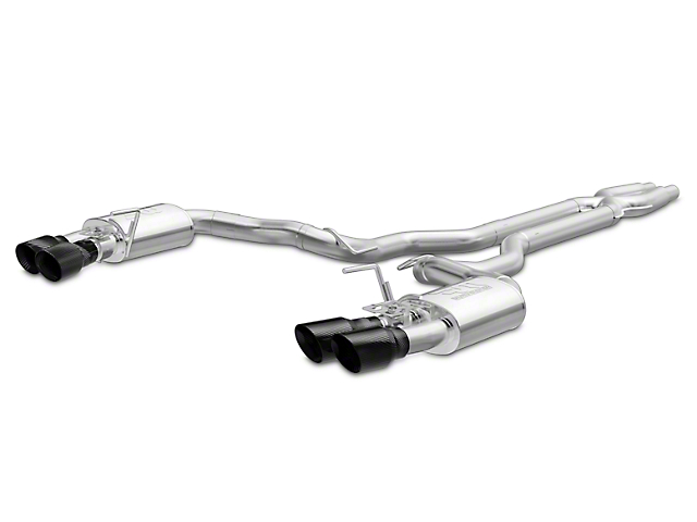 Magnaflow Competition Series Cat-Back Exhaust - Carbon Fiber Quad Tips (15-18 GT350)