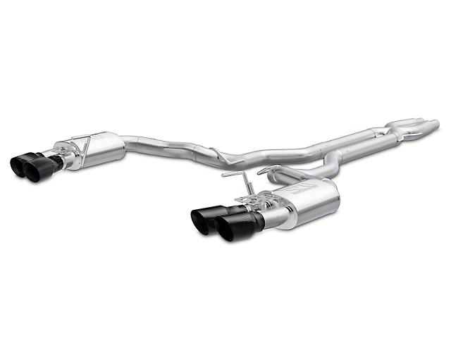 Magnaflow Competition Series Cat-Back Exhaust - Carbon Fiber Quad Tips (15-17 GT350, GT350R)