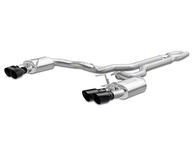 Magnaflow Competition Series Cat-Back Exhaust - Carbon Fiber Quad Tips (15-17 GT350, GT350R)