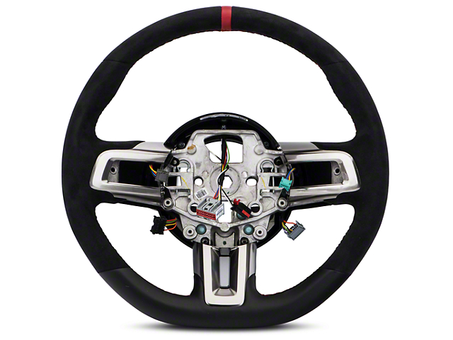 Ford Performance GT350R Leather & Alcantara Steering Wheel Kit w/ Bezels (15-17 All)