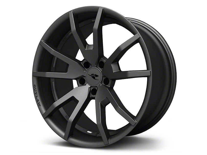 CDC Outlaw Gunsmoke Dark Gray Satin Wheel - 20x9 (15-17 All)