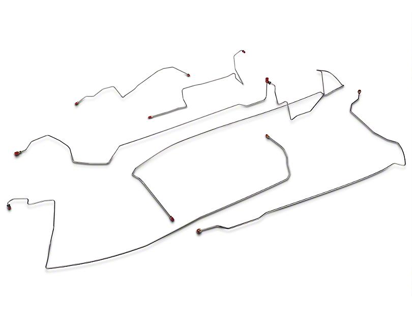 OPR Intermediate Brake Line Kit (99-04 GT w/ Traction Control)