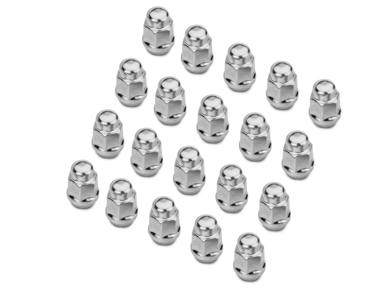 Chrome Acorn Lug Nut Kit - 1/2 in x 20 (79-14 All)