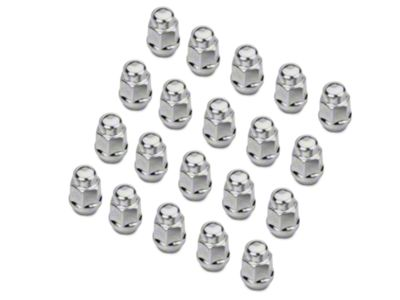 Buyer Needs to Review The spec 20pcs 1.87 Chrome 1//2-20 UNF Wheel Lug Nuts fit 1994 Ford Mustang May Fit OEM Rims