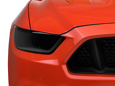 SpeedForm Smoked Headlight Covers (15-17 All; 2018 GT350)