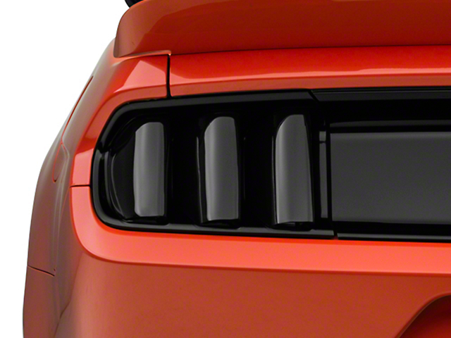 SpeedForm Tail Light Covers; Smoked (15-17 All; 18-20 GT350)