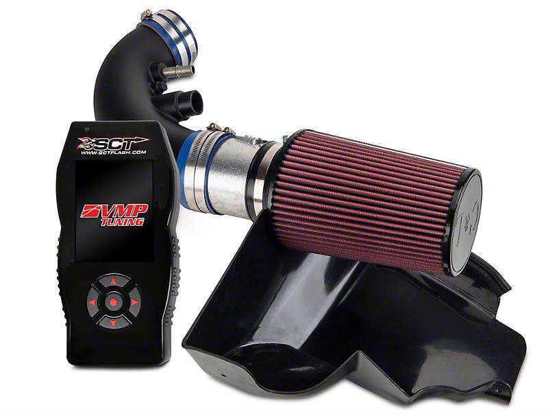 C&L Racer Cold Air Intake w/ 95mm MAF & VMP X4 Tuner (11-14 GT; 12-13 BOSS 302)