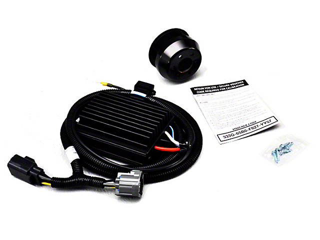 Roush Phase 1 to Phase 2 Supercharger Upgrade Kit; 727 HP (15-17 GT)