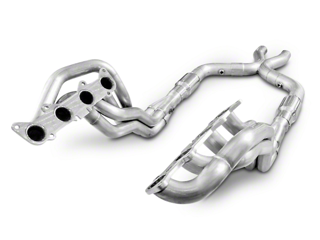 Stainless Power 1-7/8 in. Long Tube Headers & X-Pipe Kit - Performance Connect (11-14 GT)