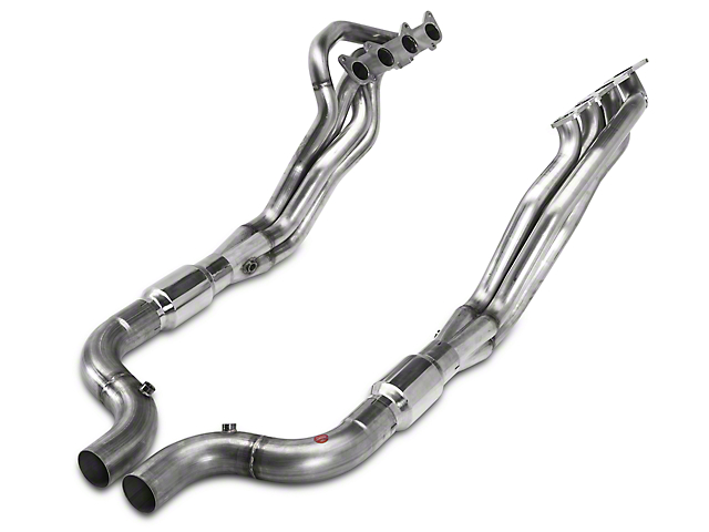 Stainless Power 1-7/8 in. Long Tube Catted Headers (15-17 GT w/ SW Cat-Back)