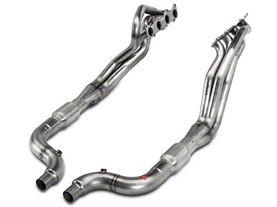 Stainless Power 1-7/8 in. Long Tube Catted Headers (15-17 GT)