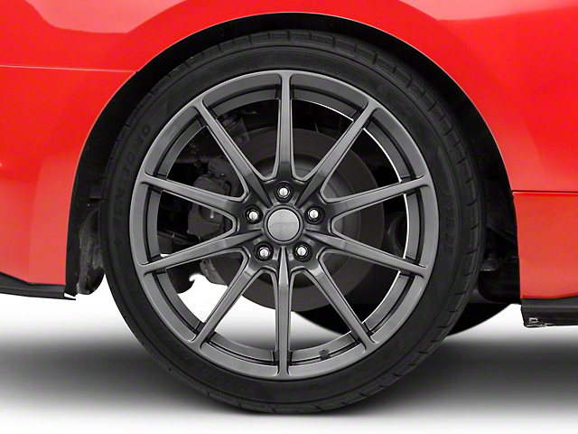 MRR M350 Graphite Wheel - 19x10 - Rear Only (15-20 GT, EcoBoost, V6)