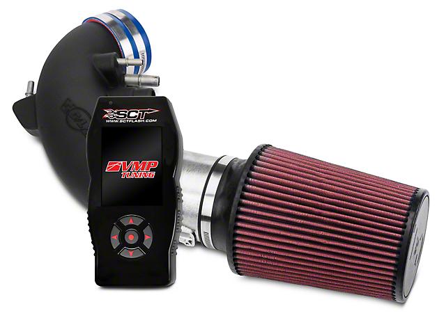 C&L Racer Cold Air Intake & SCT X4 Tuner w/ VMP Tunes (15-17 GT)