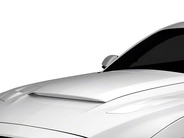MMD V-Series Hood Scoop; Unpainted (15-17 GT, EcoBoost, V6)