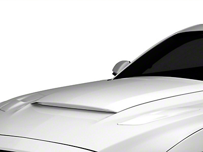 MMD Pre-Painted V-Series Hood Scoop - Black (15-17 GT, EcoBoost, V6)