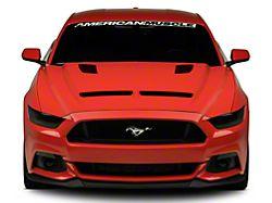 Cervini's Ram Air Hood - Unpainted (15-17 GT, EcoBoost, V6)