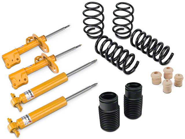 KONI Sport Adjustable Shock, Strut & Eibach Pro-Kit Lowering Springs (15-19 GT w/o MagneRide)