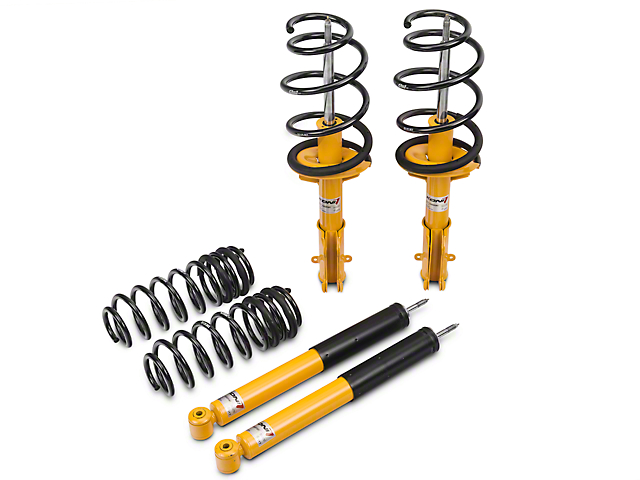 KONI Sport Adjustable Shock, Strut & Eibach Pro-Kit Lowering Spring Kit (11-14 GT, V6)